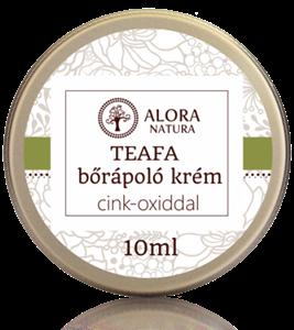 Alora Natura Teafa Bőrápoló Krém Cink-Oxiddal
