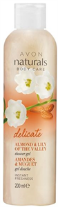 Avon Naturals Mandula és Gyöngyvirág Tusfürdő