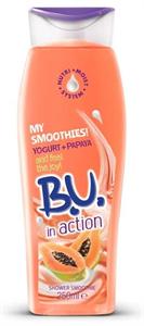 B.U. Shower Smoothie Yoghurt+Papaya