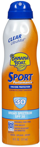 Banana Boat Sport Performance Clear Ultramist Napvédő Spray