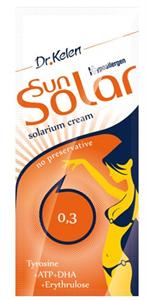 Dr. Kelen Sunsolar 0,3 Szoláriumkrém