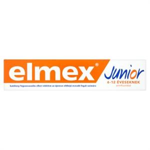 Elmex Junior Fogkrém Gyerekeknek 6-12 Éves Kor Között