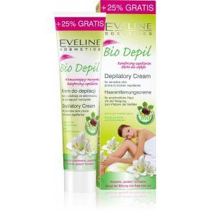 Eveline Bio Depil Szőrtelenítő Krém Érzékeny, Vérerekre, Töredezettségre Hajlamos Bőrre