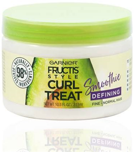 Garnier Fructis Curl Treat Smoothie Hajformázó Smoothie