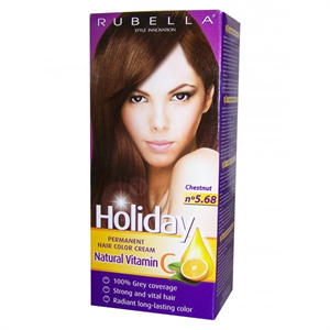 Rubella Holiday Krém Hajfesték C-Vitaminnal
