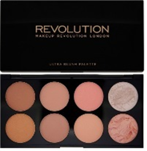 MakeUp Revolution Ultra Blush Pirosító Paletta - Hot Spice
