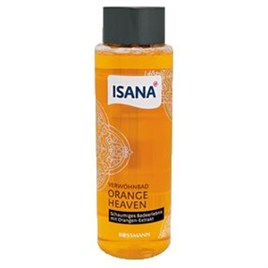 Isana Verwöhnbad Orange Heaven Habfürdő