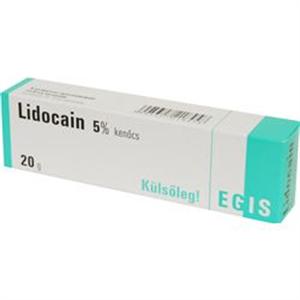 Egis Lidocain 5% Kenőcs