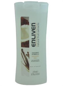 Enliven Natural Fruit Extracts Coconut & Vanilla Tusfürdő
