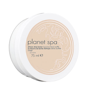 Avon Planet Spa African Shea Butter Luxurious Facial Soufflé