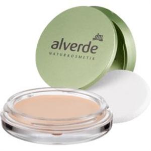 Alverde Make-Up Cream To Powder Compact Foundation