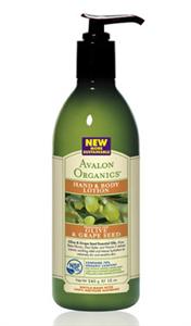 Avalon Organics Oliva & Szőlőmag Parfümmentes Testápoló