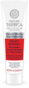 Natura Siberica Frosty Berries Fluoridmentes Gyümölcsös Fogkrém