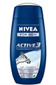 Nivea For Men Active 3 Tusfürdő