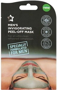 Superdrug Men's Invigorating Peel-Off Arcmaszk