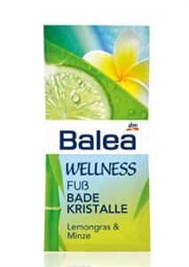 Balea Wellness Lábfürdő Kristály
