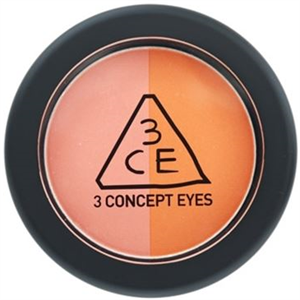 3 Concept Eyes Duo Color Face Blush