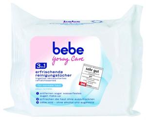 Bebe Young Care 3in1 Frissítő Arctisztító Kendő