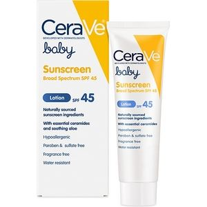 CeraVe Baby Sunscreen Lotion SPF45