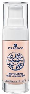 Essence Hip Girls Wear Blue Jeans Illuminating Face Cream Gel
