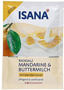Isana Fürdősó Mandarin & Iró Illattal