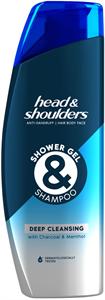 Head & Shoulders Deep Cleansing Férfi Tusfürdő és Sampon