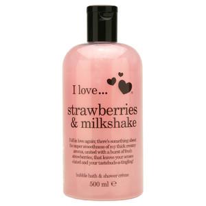I love... Strawberries & Milkshake Tusfürdő