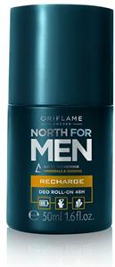 Oriflame North for Men Recharge 48 Órás Izzadásgátló Golyós Dezodor