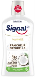 Signal Integral 8 Nature Elements Szájvíz Kókusz Kivonattal