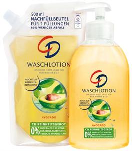 CD Waschlotion Avocado Folyékony Szappan