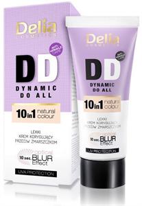 Delia Cosmetics DD Könnyű Korrigáló Ránctalanító Arckrém