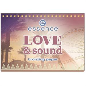 Essence Love & Sound Bronzing Paper