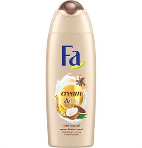 Fa Cream & Oil Kókuszolaj és Kakaóvaj Tusfürdő