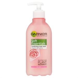 Garnier Essentials Habzó Arclemosó Krém Száraz és Érzékeny Bőrre