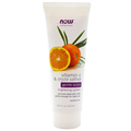Now Foods Solutions Gentle Scrub Vitamin C & Oryza Sativa