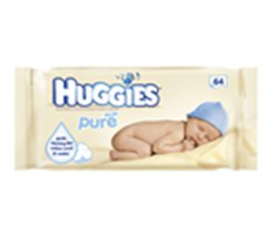 Huggies Pure Popsitörlő Kendő