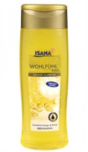 Isana Golden Glamour Habfürdő