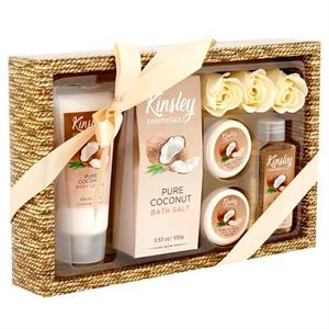 Kinsley Cosmetics Pure Coconut Shower Gel