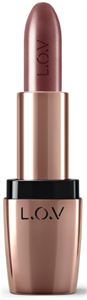 L.O.V Lipaffair Color & Care Lipstick Metallic