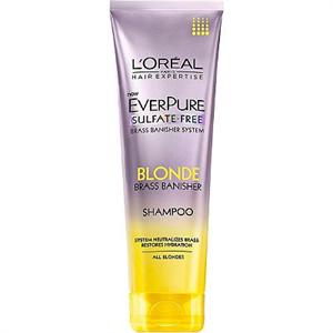 L'Oreal Everpure Blonde Brass Banisher Shampoo