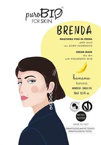 PuroBIO Cosmetics Brenda Krém Maszk Banánnal