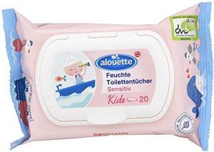 alouette Kids Sensitiv Nedves Toalettpapír
