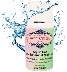 Sweetsation Therapy Aqua*Tica Éjszakai Krém