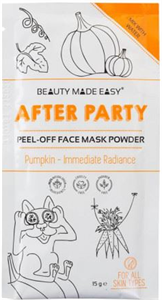 Beauty Made Easy After Party Peel-Off Face Mask Powder