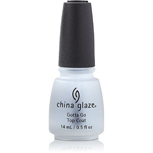 China Glaze Gotta Go Top Coat