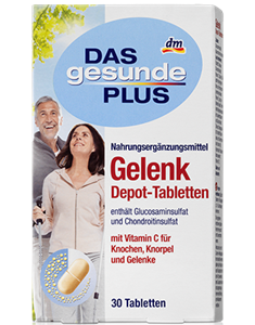 Das Gesunde Plus Gelenk Depot-Tabletten Aktiv Plus