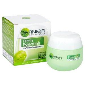 Garnier Essentials 24H Hidratáló Krém Szőlő Kivonattal