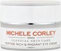 Michele Corley Peptide Rich & Radiant Ránctalanító Szemkörnyékápoló Krém