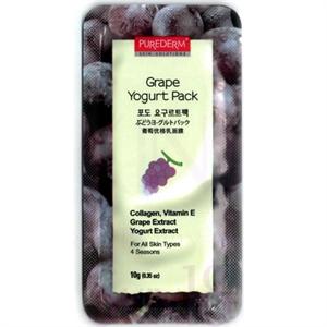 Purederm Grape Yogurt Pack