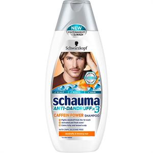 Schauma Anti-Dandruff X3 Caffein Power Shampoo